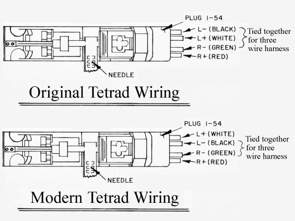 CartSubs TetradWiringModern cartridge substitution help! turntable cartridge wiring diagram at n-0.co